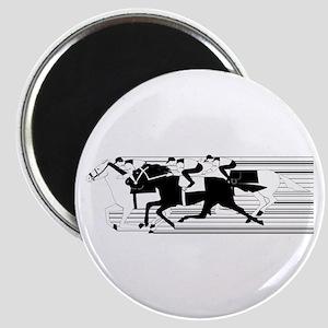 HORSE RACING! Magnet