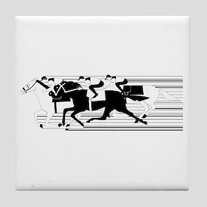HORSE RACING! Tile Coaster