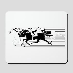 HORSE RACING! Mousepad