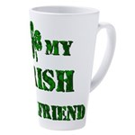 Irish Girlfriend 17 oz Latte Mug