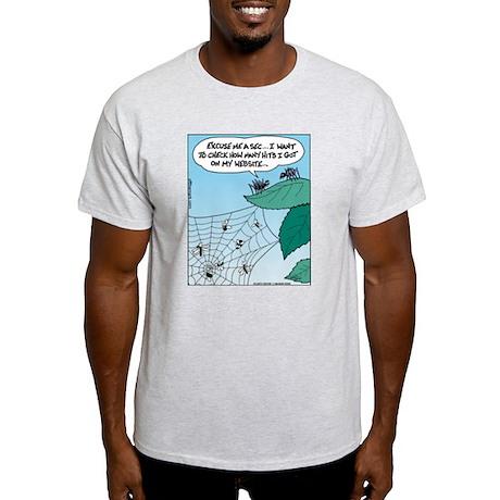 Spider Web Hits Light T-Shirt