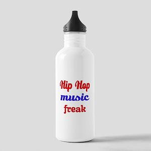 Hip Hop Music Freak Stainless Water Bottle 1.0L