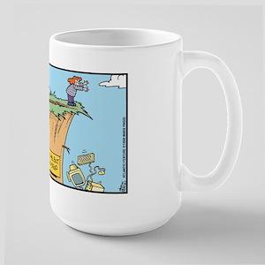 Computer Drag & Drop Large Mug