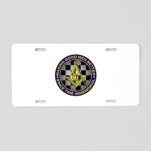 Making Good Men Better Aluminum License Plate