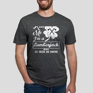 Kiss Me Im Lumberjack Irish Drunk Whatever T-Shirt