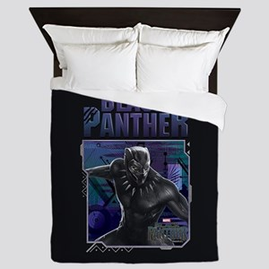Black Panther Title Queen Duvet