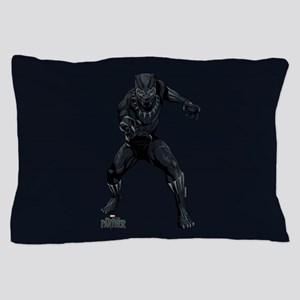 Black Panther Stance Pillow Case
