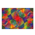 Worlds Abstract Postcards (Package of 8)