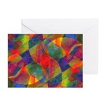 Worlds Abstract Greeting Cards (Pk of 20)