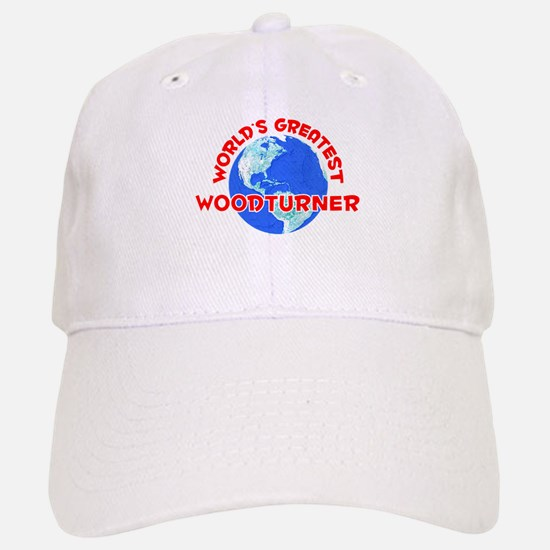 World's Greatest Woodt.. (F) Baseball Baseball Cap