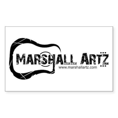 Marshall Artz Rectangle Sticker