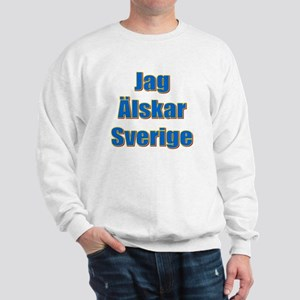 Jag Älskar Sverige Sweatshirt