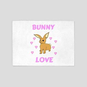 Bunny Love 5'x7'Area Rug