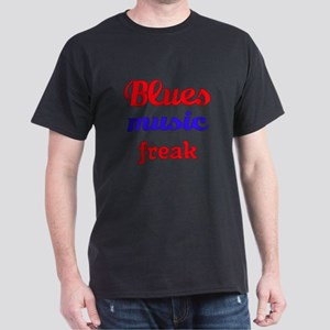 Blues Music Freak Dark T-Shirt