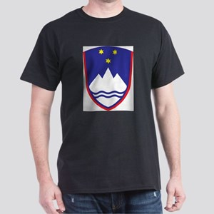 Slovenia Coat Of Arms Ash Grey T-Shirt