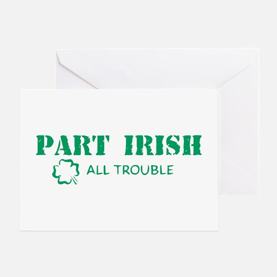 Part Irish Greeting Card