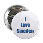 I Love Sweden Button
