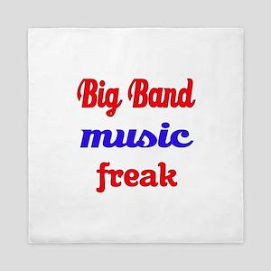 Big Band Music Freak Queen Duvet