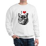 I Love Pussy Sweatshirt