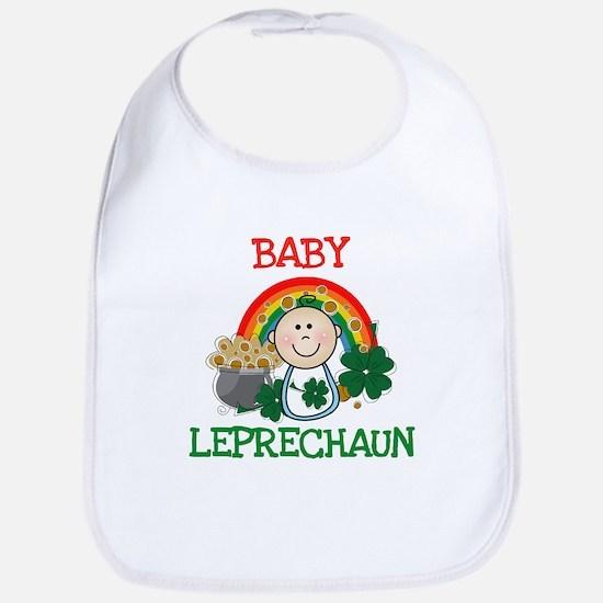 St. Pat's Baby Leprechaun Bib