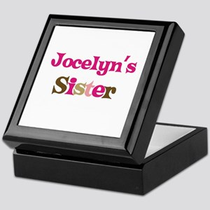 Jocelyn's Sister Keepsake Box
