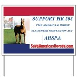 AHSPA Campaign Sign - Support HR 503
