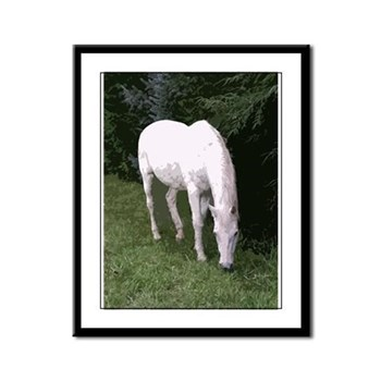 Save America's Horses Framed Panel Print