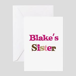 Blake's Sister Greeting Card