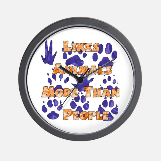 Animal Lover Wall Clock