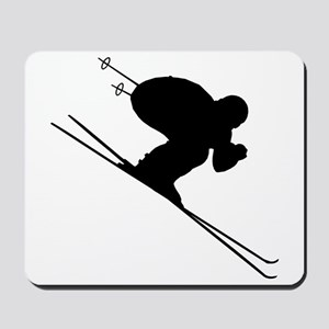 DOWNHILL SKIER Mousepad