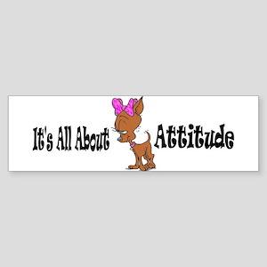 Chi Attitude 4a Bumper Sticker