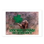 CAN I BE IRISH? Postcards (Package of 8)