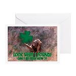 CAN I BE IRISH? Greeting Card