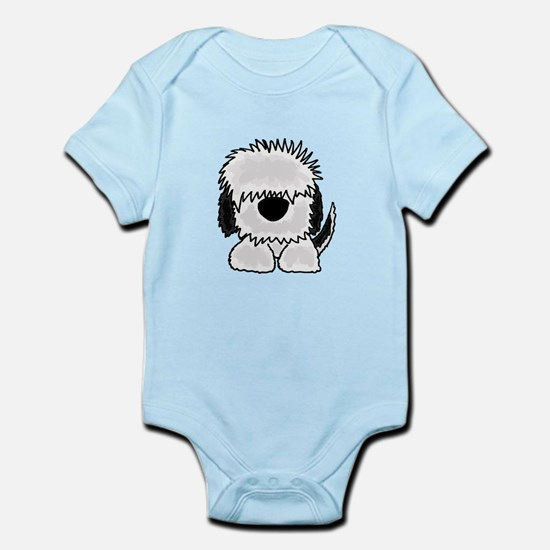 Sheepdog Cartoon Body Suit