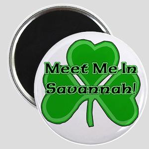 Meet Me In Savannah Magnet
