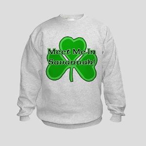 Meet Me In Savannah Kids Sweatshirt