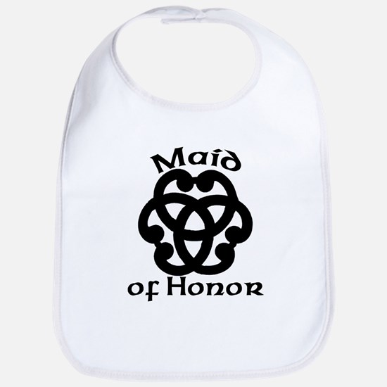 Celtic Knot Maid of Honor Bib