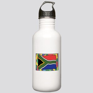 South Africa Flag On S Stainless Water Bottle 1.0L