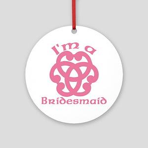 Celtic Knot Bridesmaid Ornament (Round)