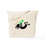 Kokopelli + St. Patrick's Day Tote Bag