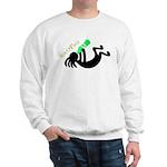 Kokopelli + St. Patrick's Day Sweatshirt