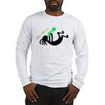 Kokopelli + St. Patrick's Day Long Sleeve T-Shirt