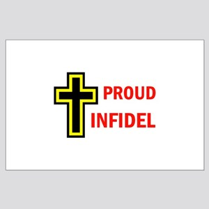 PROUD INFIDEL Large Poster