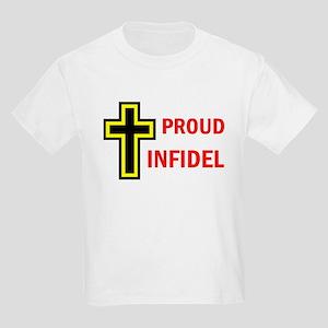PROUD INFIDEL Kids Light T-Shirt