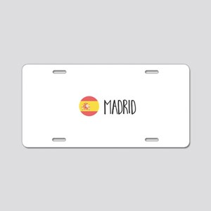Madrid Aluminum License Plate