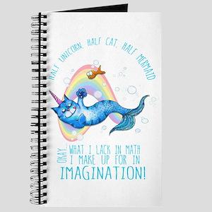 Unicatmaid unicorn cat mermaid Journal