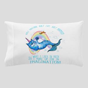 Unicatmaid unicorn cat mermaid Pillow Case