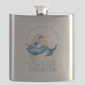 Unicatmaid unicorn cat mermaid Flask