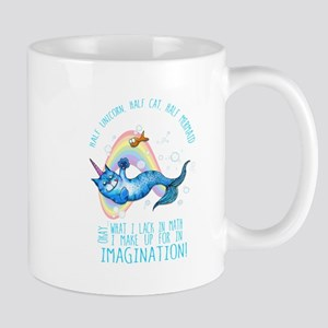 Unicatmaid unicorn cat mermaid Mugs