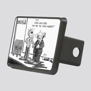 Bad day at the Market Rectangular Hitch Cover